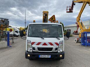 damaged NISSAN CABSTAR 32.13/KLUBB K26 bucket truck