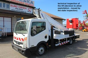 NISSAN Cabstar - 22 m Multitel MT222AZ bucket truck