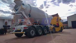 new STU 12.7 CBM MIXER TRAILER concrete mixer semi-trailer