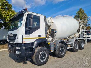 IVECO 8x4 / 10 m3 / EU brief concrete mixer truck