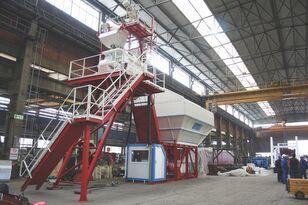 new GURIS GCP 60 CT concrete plant