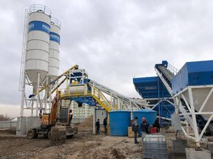 new PROMAX Central de Betão Móvel M120-TWN (120m³ / h) concrete plant