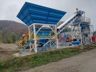new PROMAX Compact Concrete Batching Plant C60-SNG-PLUS (60m3/h concrete plant