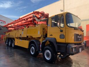 Putzmeister BSF 52.5-200 on chassis MAN 50.460 concrete pump
