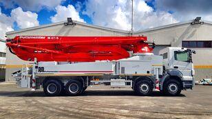 Putzmeister 2016 47 METER  on chassis MERCEDES-BENZ Axor 4140 concrete pump