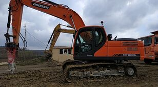DOOSAN DX 200 A tracked excavator