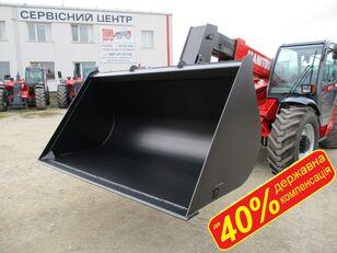 new MANITOU КОВШ 1.5м3 - 3м3 ДЕРЖКОМПЕНСАЦІЯ до 40% front loader bucket